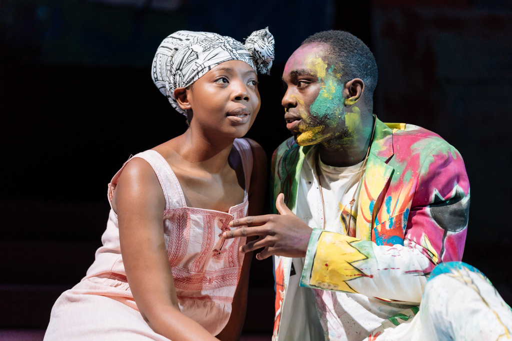 Hamlet Photo by Manuel Harlan (C) RSC. Mimi Ndiweni & Paapa Essiedu