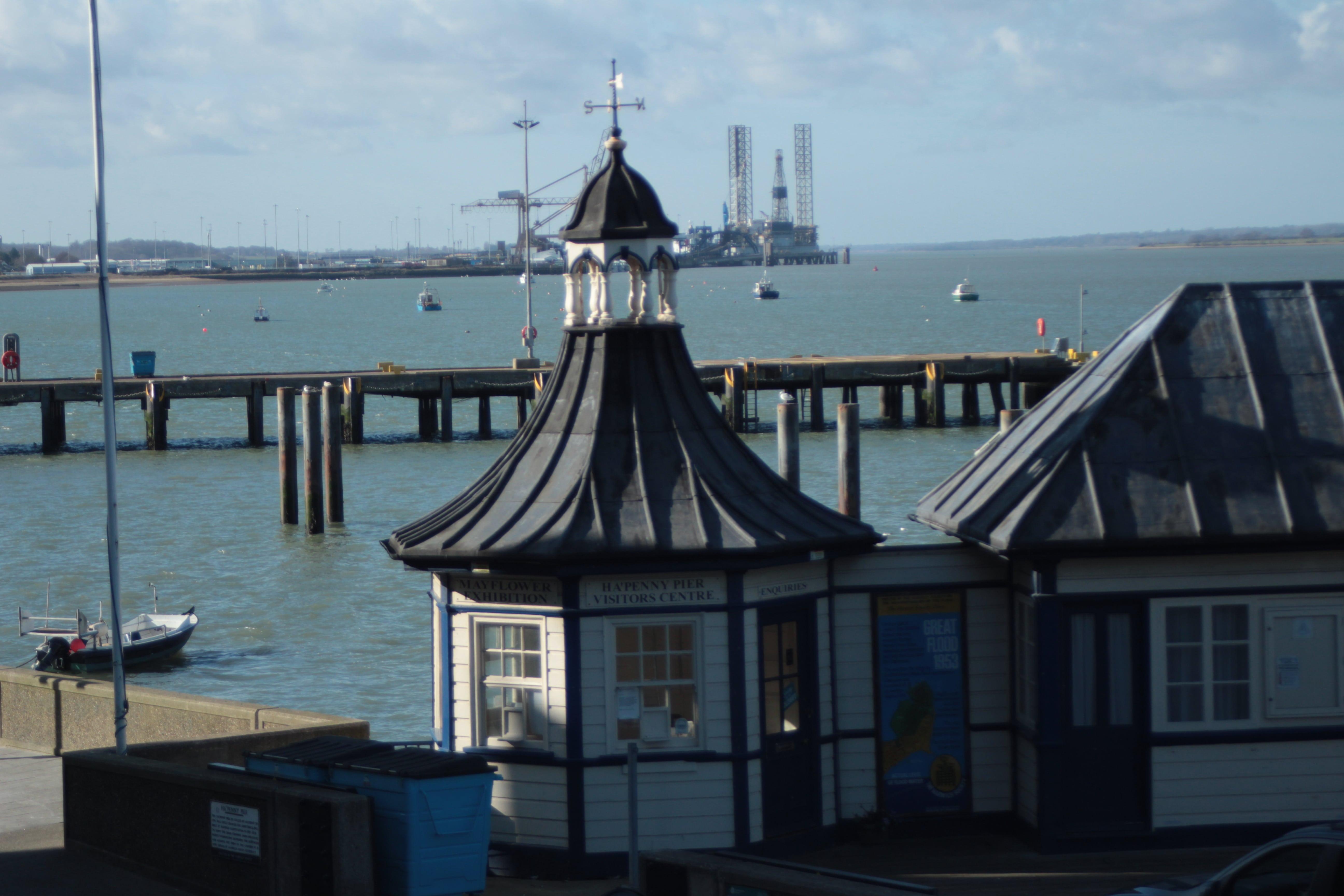 Ha'penny Pier - Mayflower Harwich