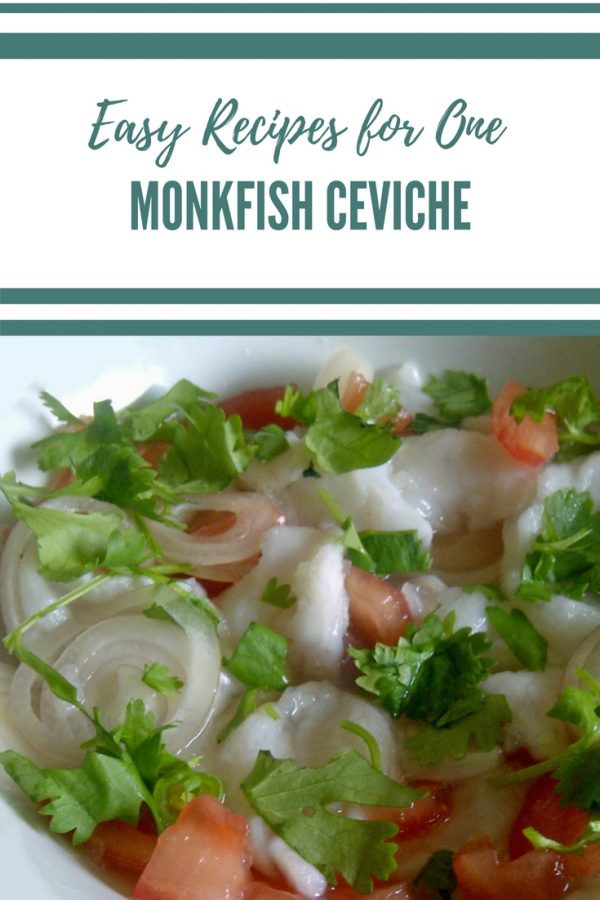 Monkfish Ceviche - Easy Recipe