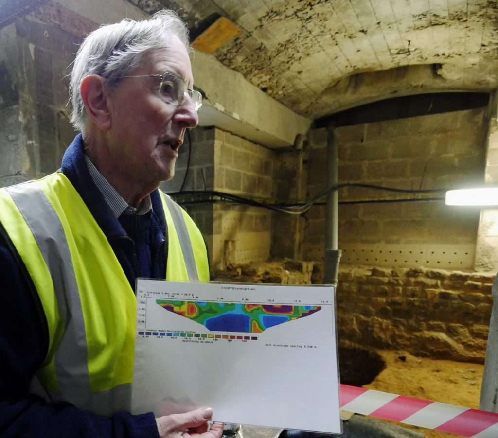 R J Whitaker Roman Baths Archway Project