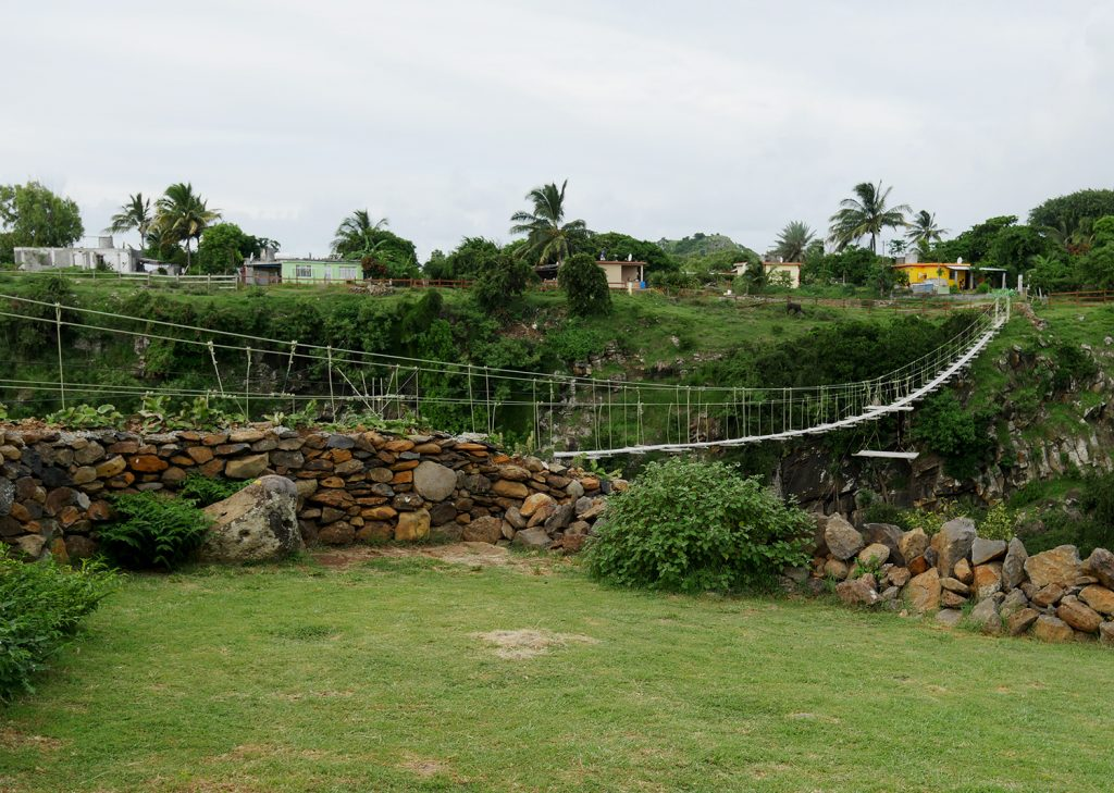 Rope Bridge Rodrigues