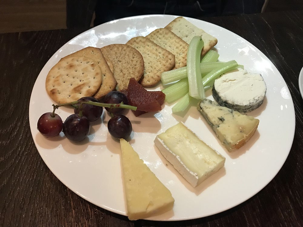Sopwell House Cheese plate