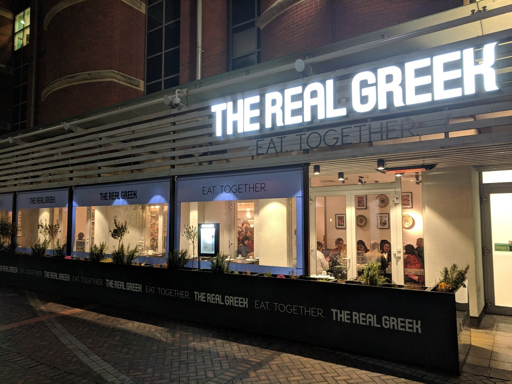 The Real Greek - Vegan Menu Review - The Real Greek