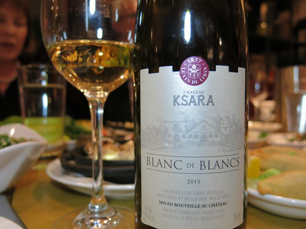 abd el wahab London Chateau Ksara Lebanese White Wine