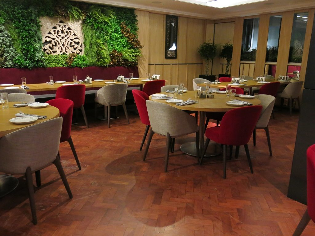 abd el wahab London Lebanese Restaurant Interior