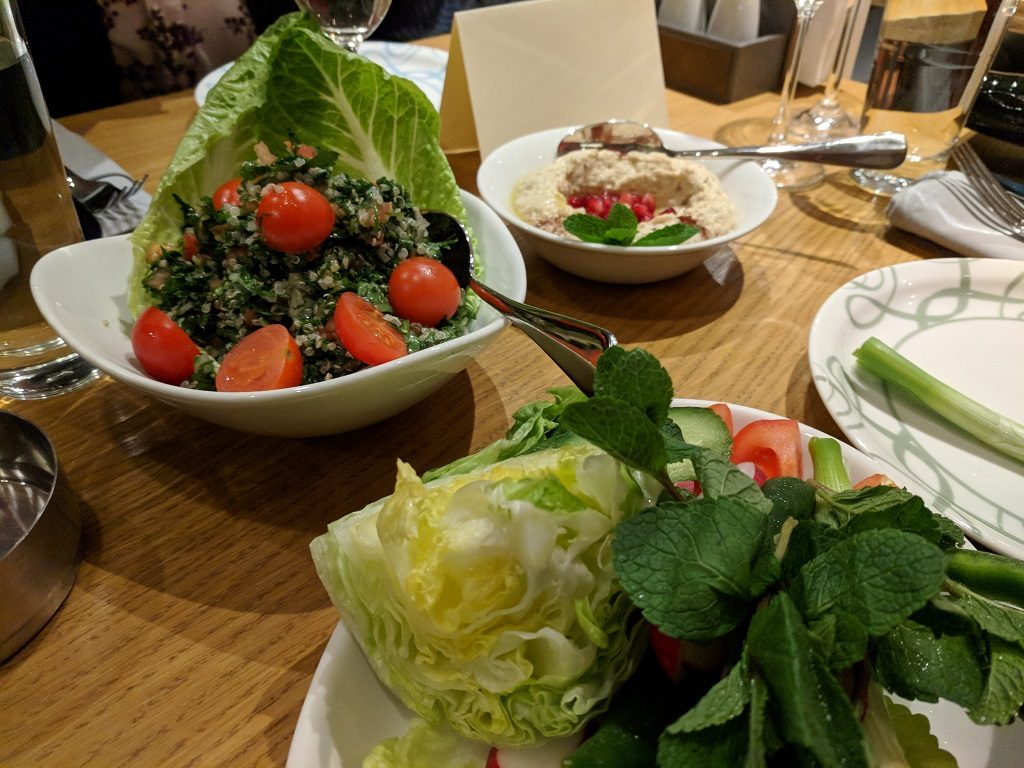 abd el wahab London Lebanese Tabbouleh and Falafel Salad