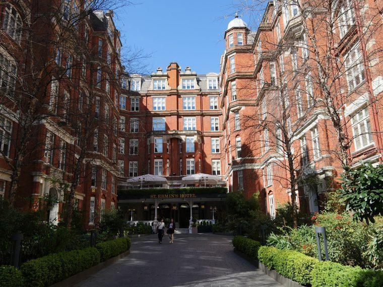 Afternoon Tea London - St Ermins Hotel