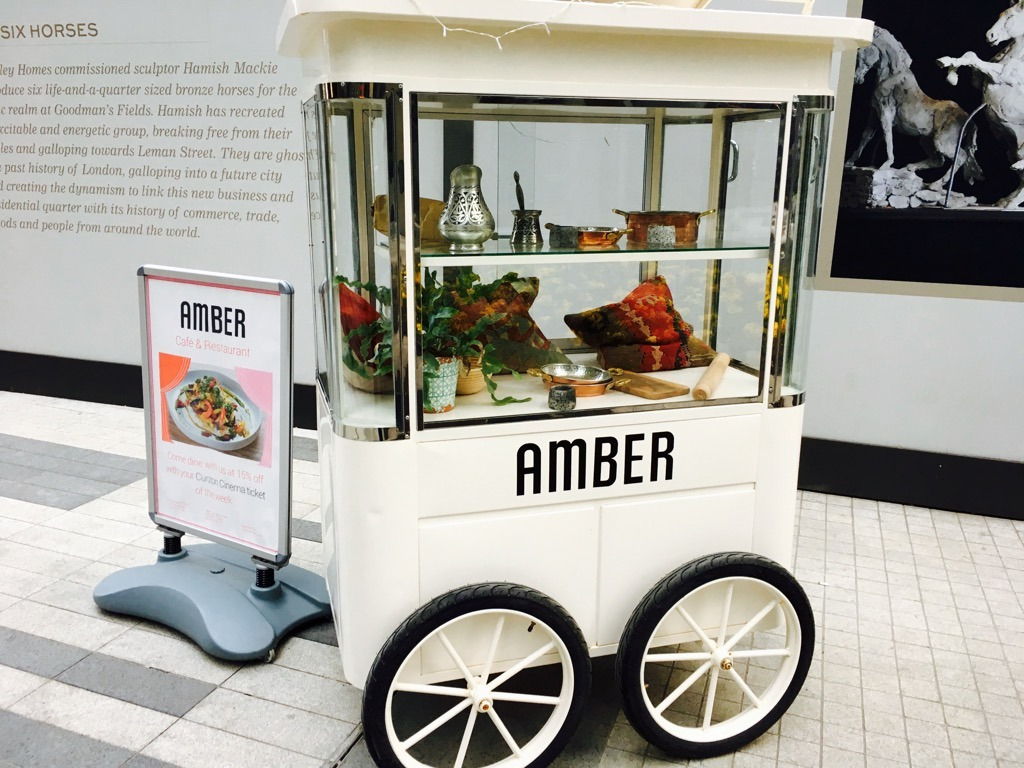 Amber cart