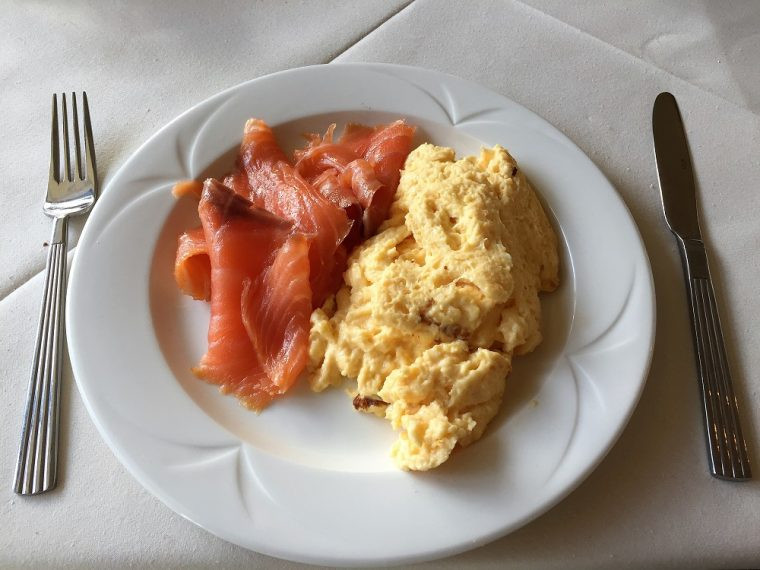 Tre-Ysgawen breakfast