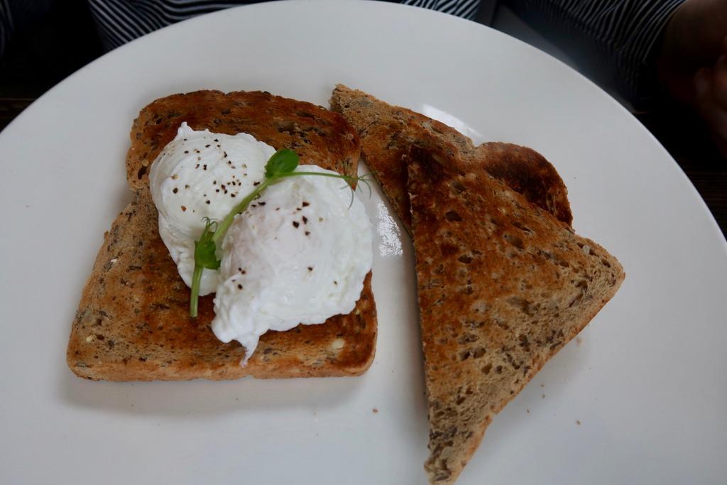 Breakfast - poached eggs