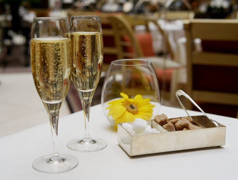 Champagne - Landmark Hotel Afternoon Tea