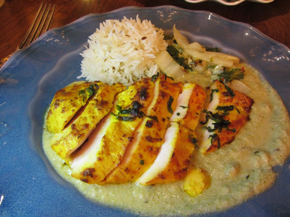 Cinnamon Kitchen Battersea - Tandoori chicken breast