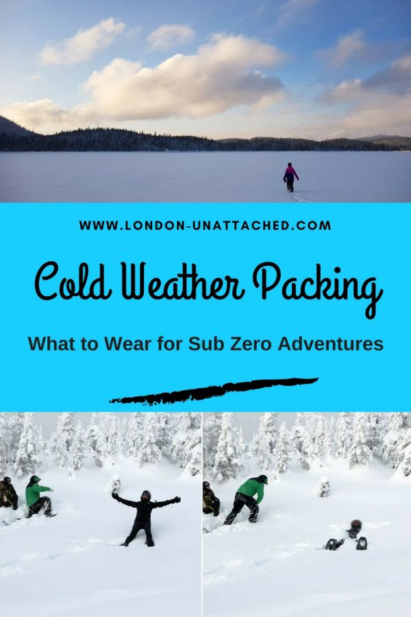 Cold Weather Packing, Cold Weather Clothing