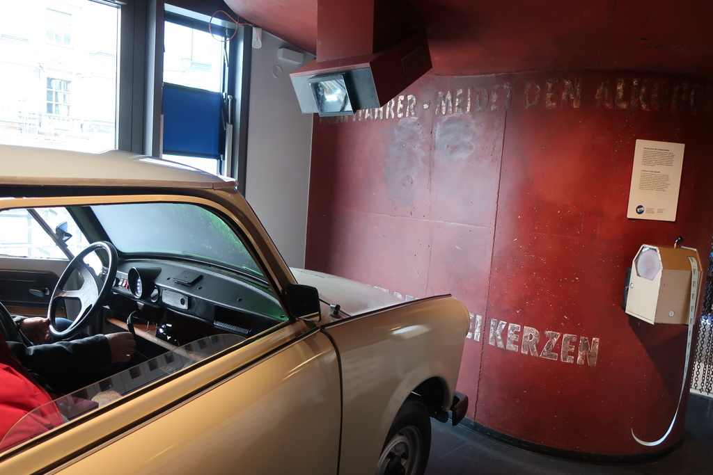 DDR Museum Trabi car
