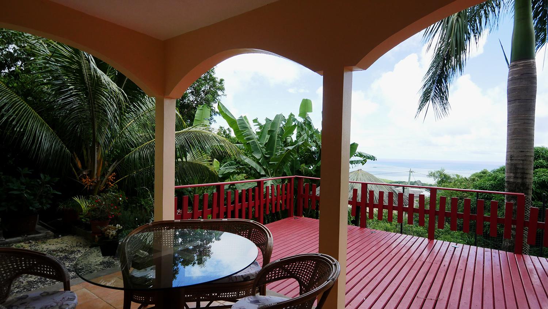 Deck - Villa - Rodrigues