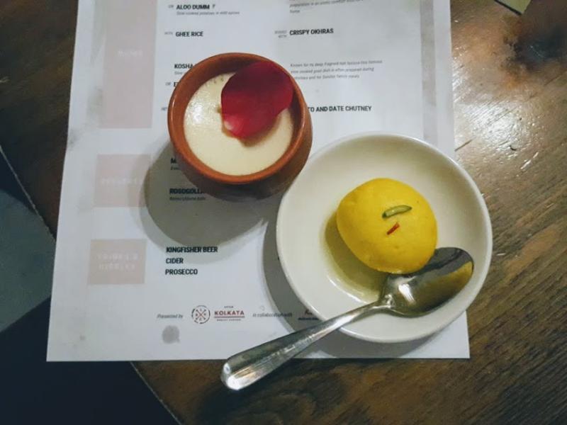 Dessert ittle kolkata supperclub