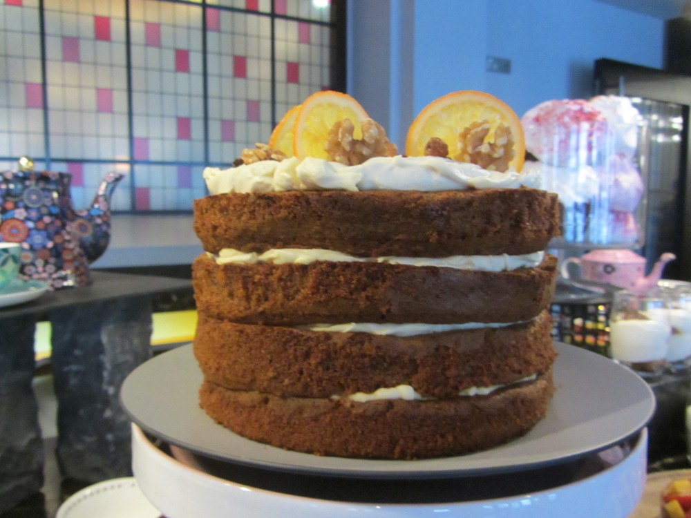 Eastway at Andaz - carrot cake