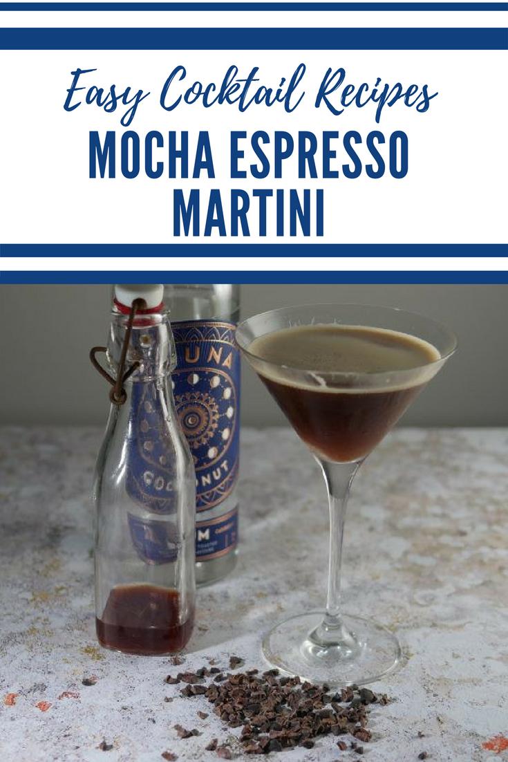 Espresso Martini - mocha espresso martini recipe