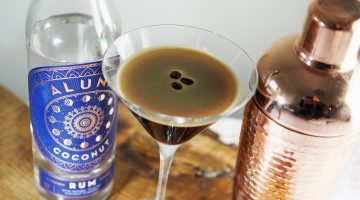 Aluna Coconut Rum – Mocha Espresso Martini and #Giveaway