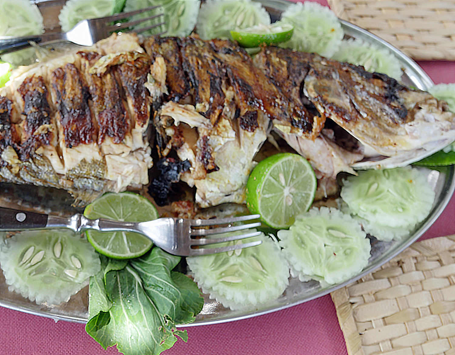 Rodrigues Grilled Fish with Lemon
