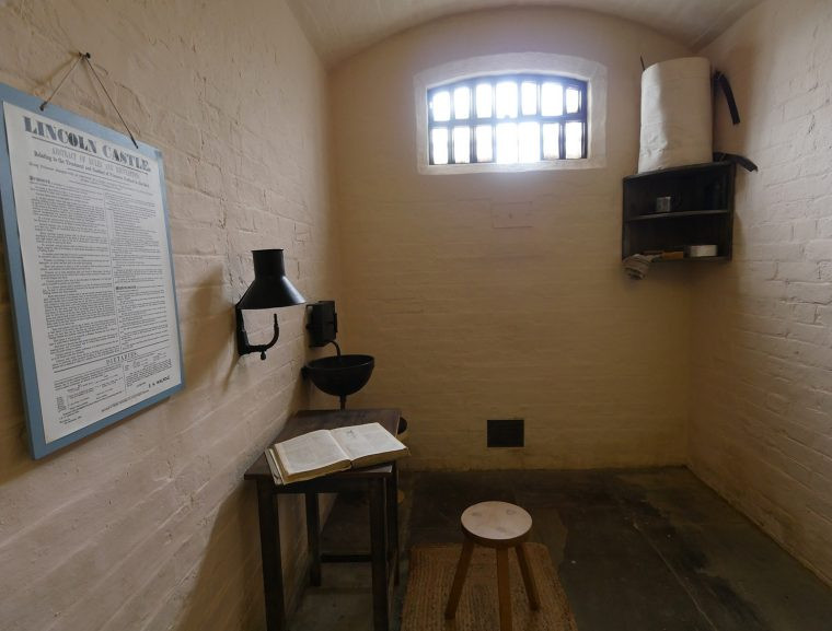 Lincoln Castle Prison Cell
