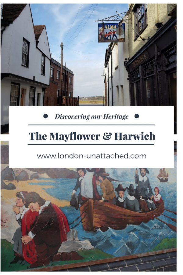 Mayflower Harwich, Christopher Jones Harwich, Pilgrim Fathers Harwich