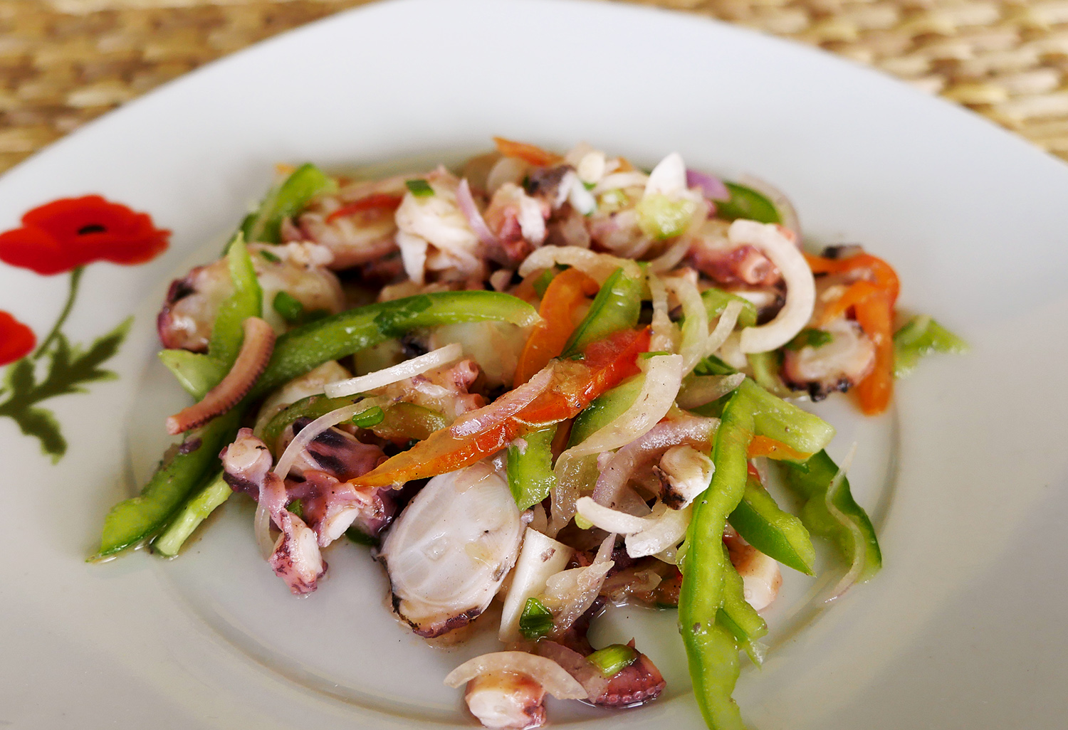 Octopus Salad - Rodrigues