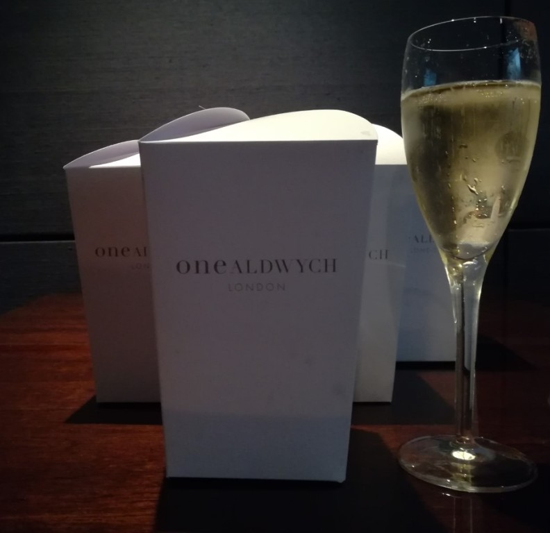 One Aldwych - fizz and popcorn