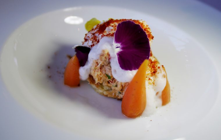 Oxo Tower Restaurant Southbank London - Crab