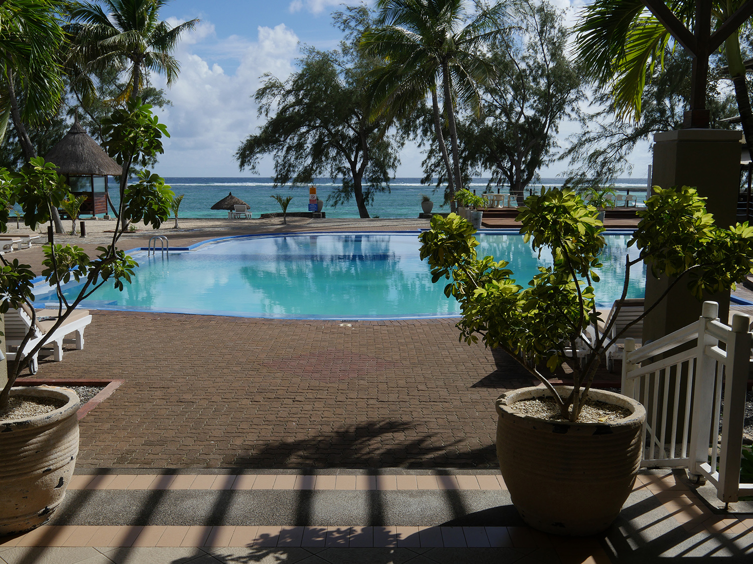 Pool and Sea Cotton Bay Hotel Rodrigues Island vacation guide