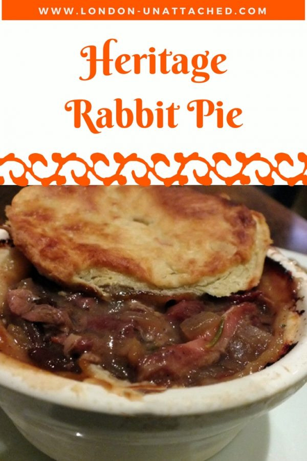 Rabbit Pie Recipe, Heritage Rabbit Pie, Medieval Rabbit Pie, Suet Crust Rabbit Pie