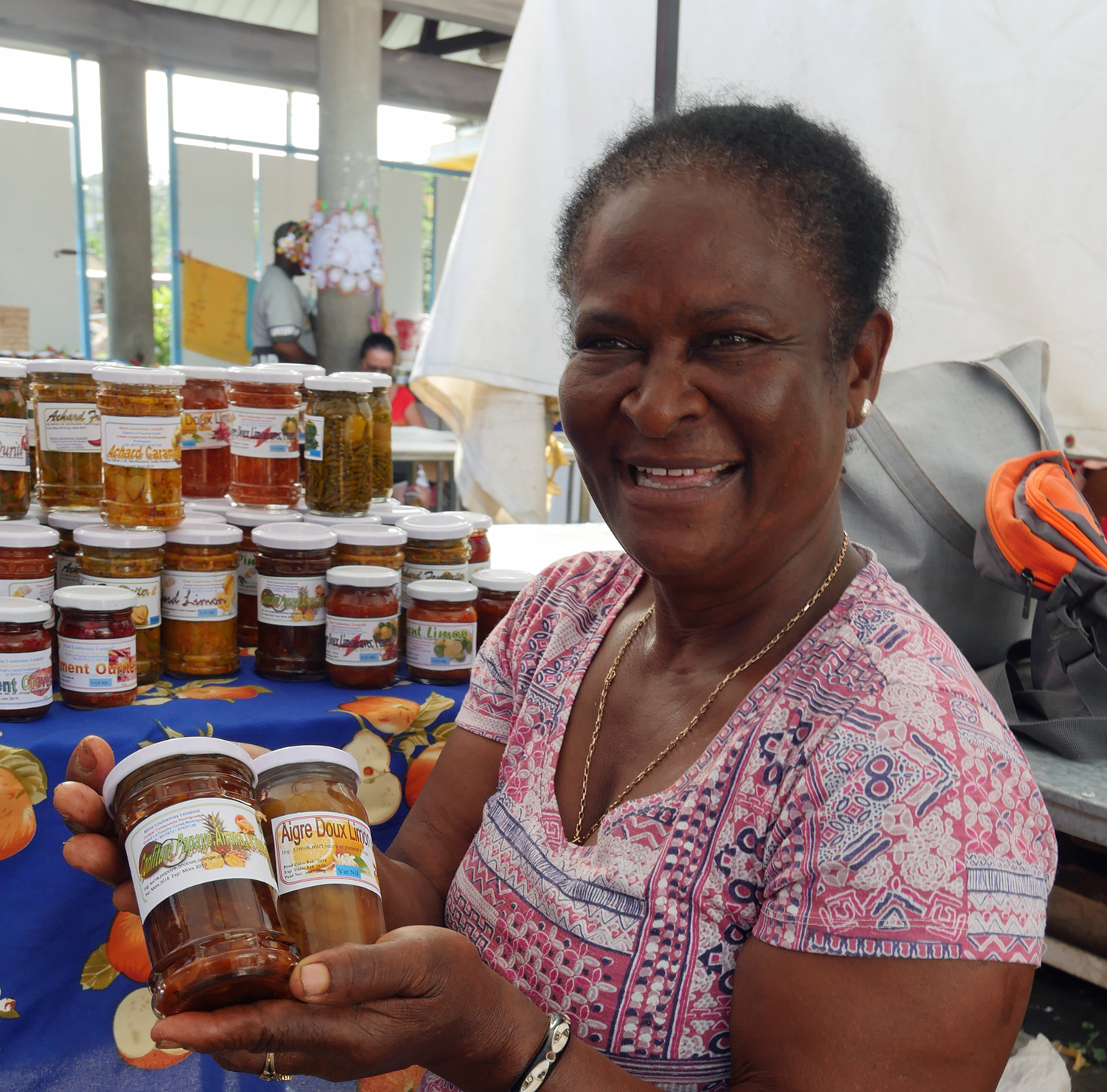Rodrigues Saturday Market Preserves