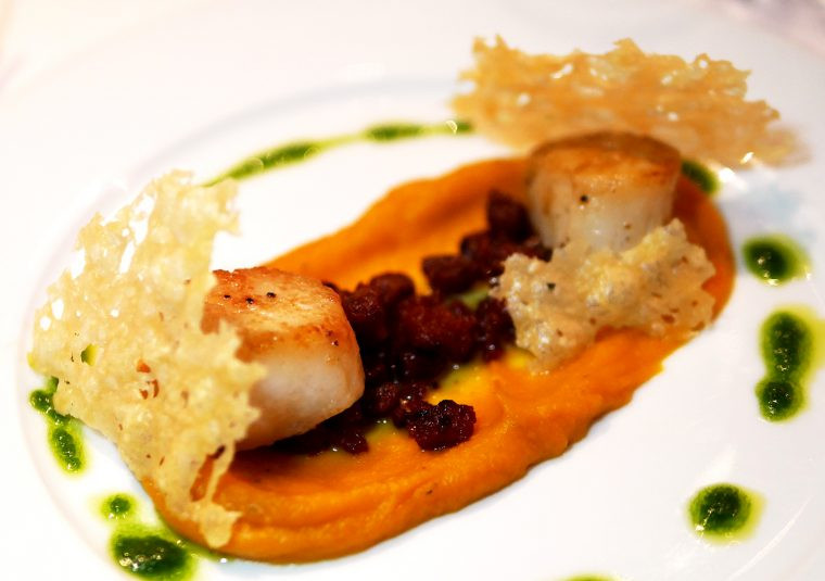 Scallops - American Bar Coliseum London