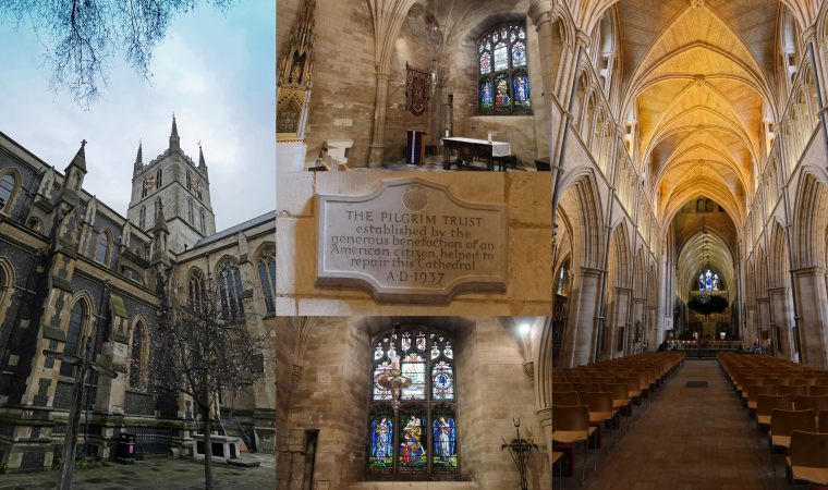 Southwark Cathedral John Harvard Chapel - Mayflower Connection London