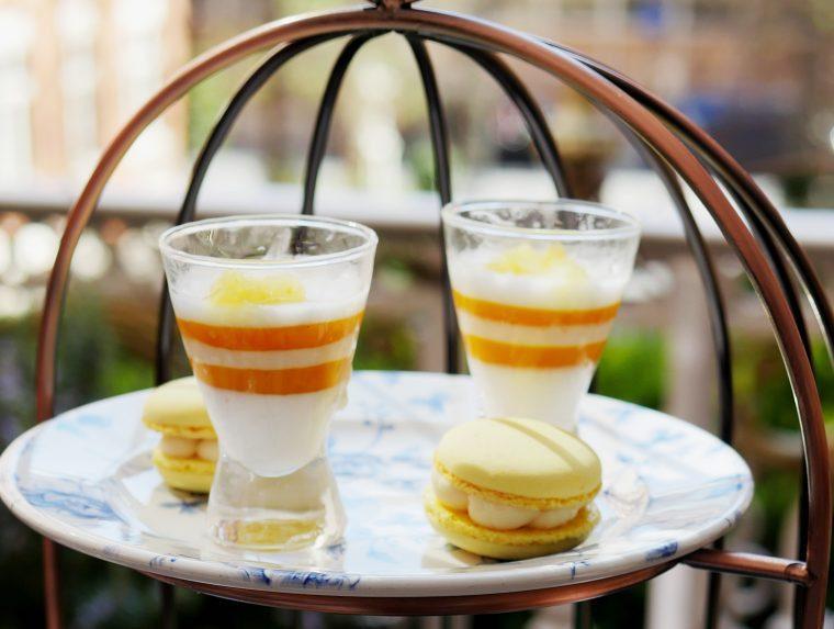 St Ermins Hotel Afternoon Tea Pannacotta and Macaron