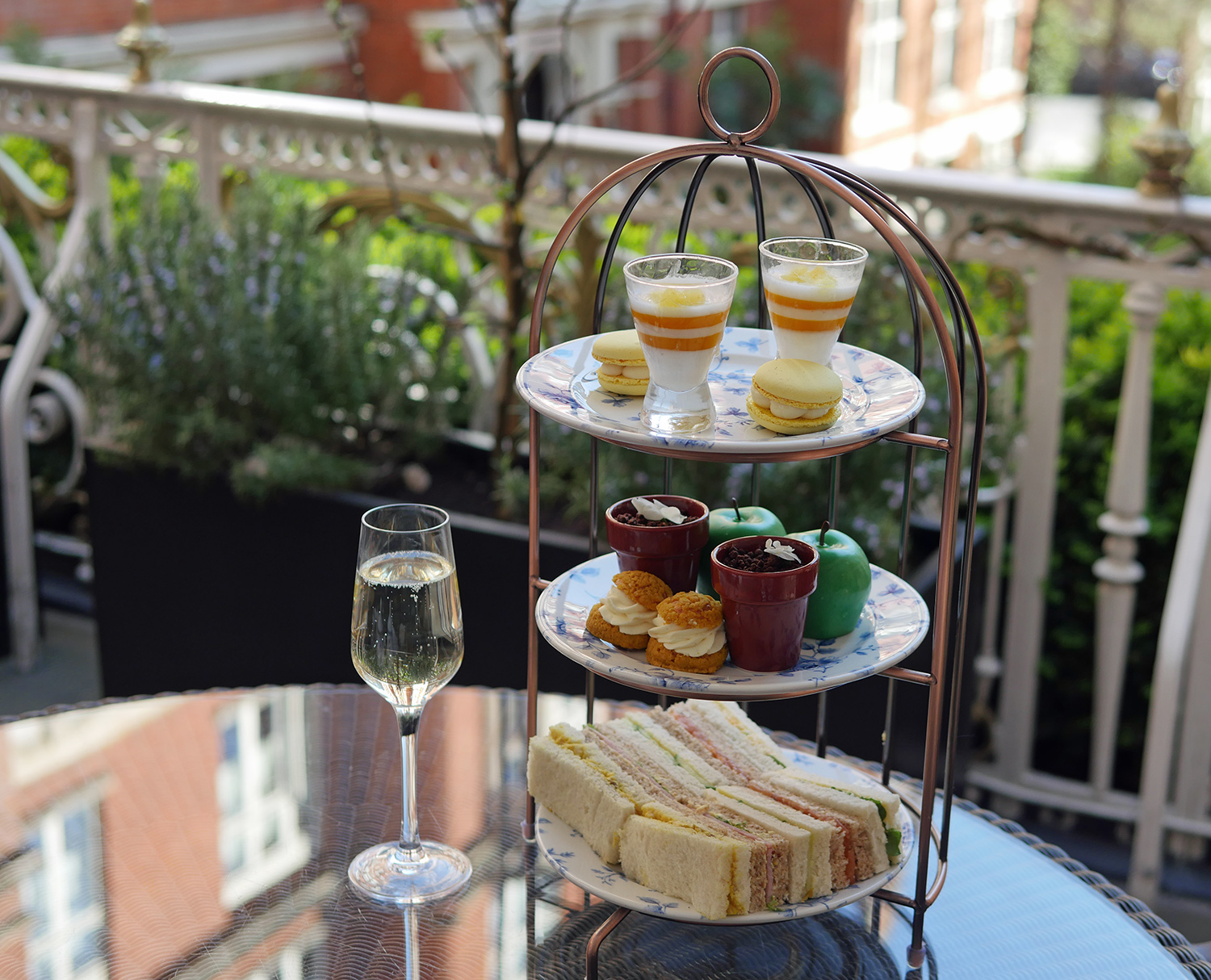 St Ermins Hotel Afternoon Tea Terrace