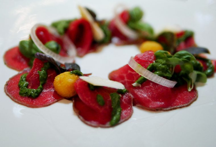 St Ermins Hotel St James's - Caxton Grill Beef Carpaccio