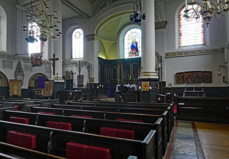 St Marys Rotherhithe Interior