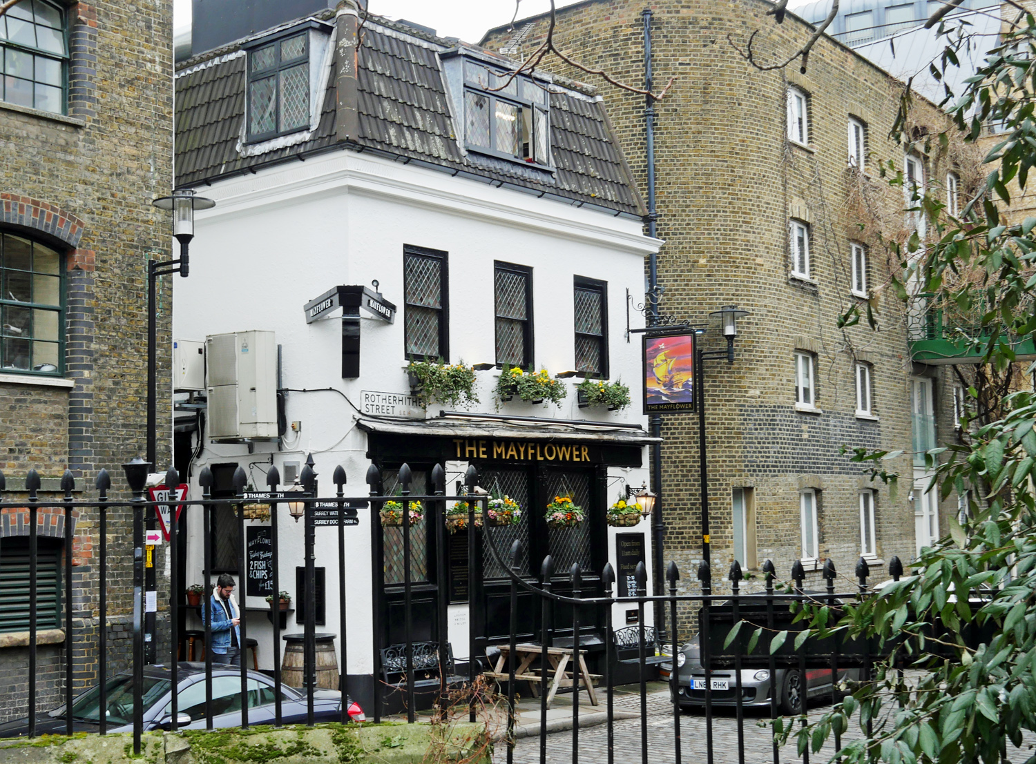 The Mayflower Pub - Rotherhithe