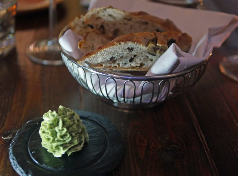 Walnut Bread and Herb Butter St Ermins Hotel Victoria - Caxton Grill