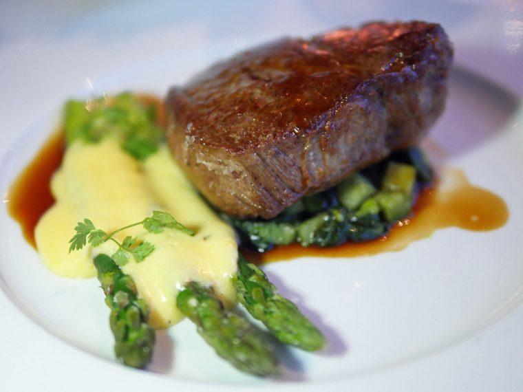 oxo tower restaurant - beef fillet - london southbank riverside fine dining