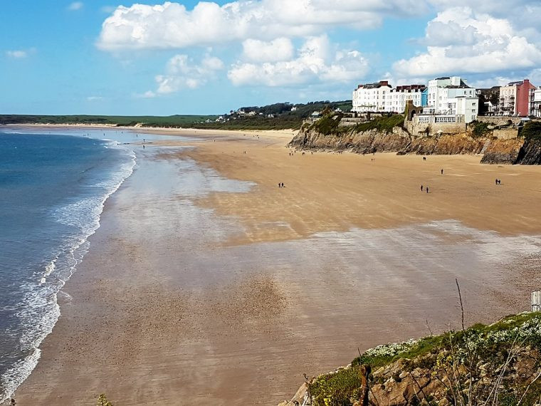 South Beach Tenby Pembrokeshire