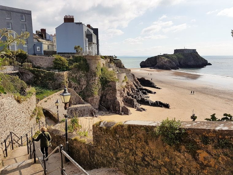 view of St Catherine's Island Tenby