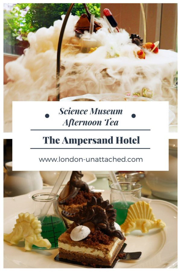 Afternoon Tea London - Science Museum Afternoon Tea - Ampersand Hotel London
