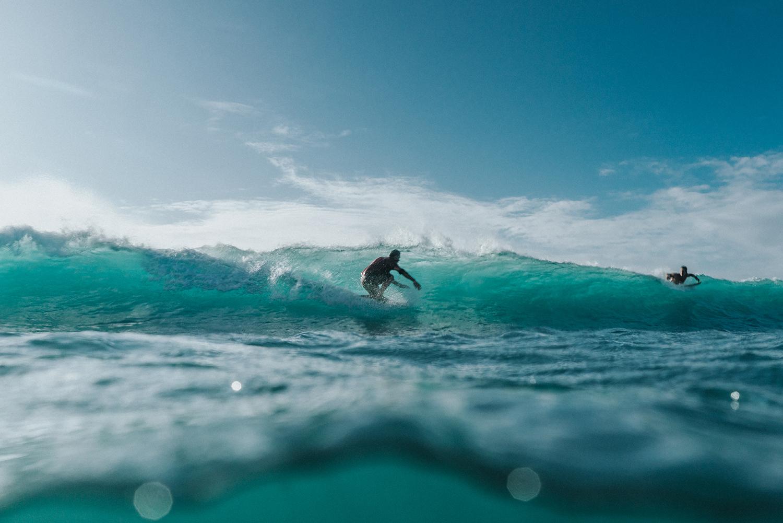 Aruba Surfers
