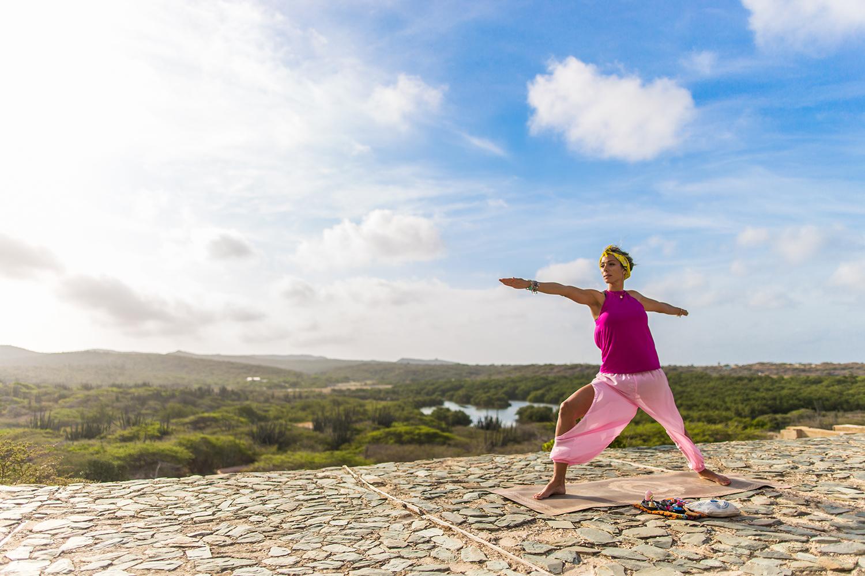 Aruba - Yoga at Balashi Gold Mill Ruins