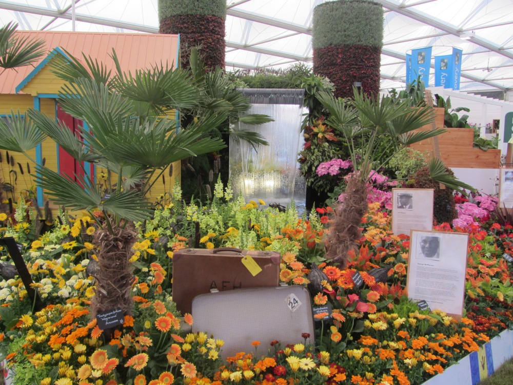 Chelsea Flower Show - Windrush display the stories