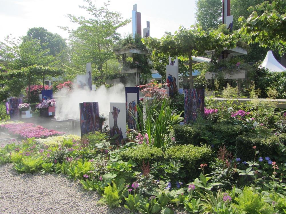 Chelsea Flower Show - Chinese city garden