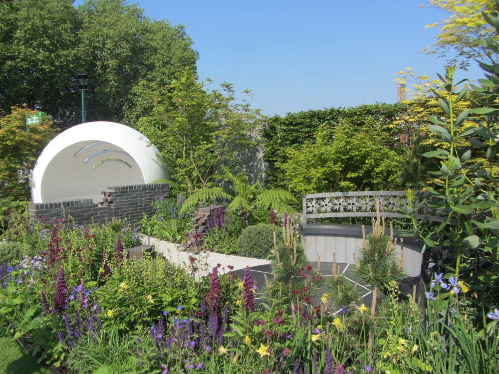 Chelsea Flower Show - HIV garden