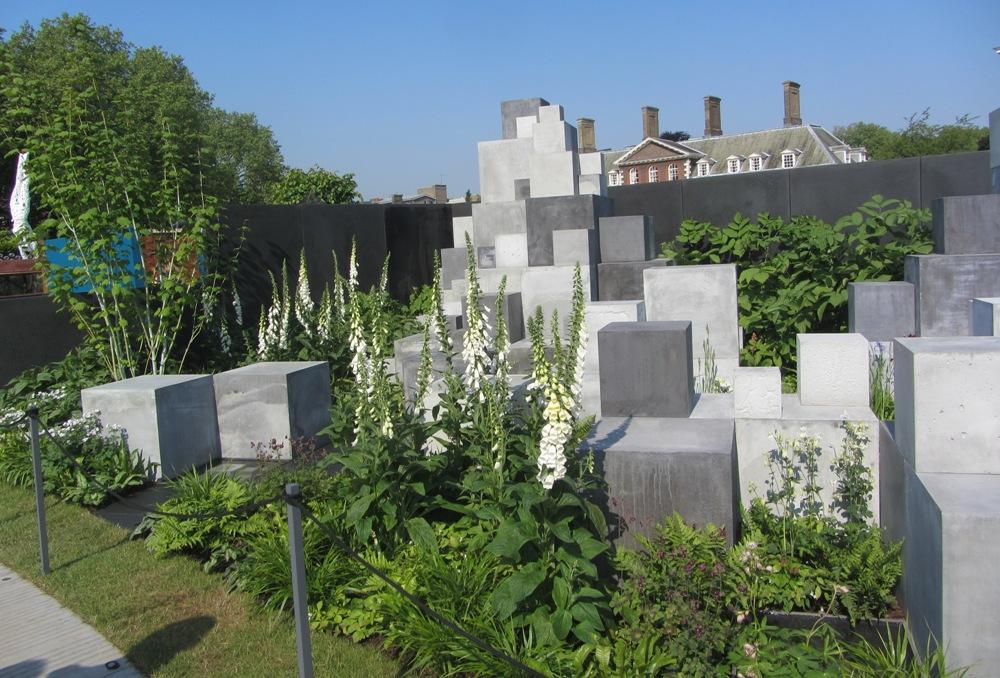 Chelsea Flower show - concrete jungle